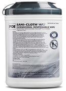 "PDI Sani-Cloth AF3 Alcohol-Free Germicidal Disposable Surface Wipes X-Large 7.5""x15"" (65 ct)"