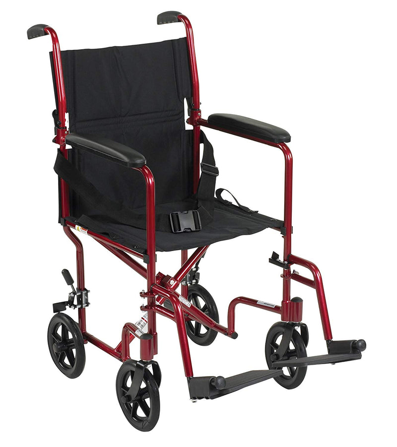"Drive Lightweight Transport Wheelchair - 17"" Seat"