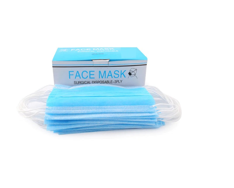 3-Ply Surgical Face Mask (Box of 50)