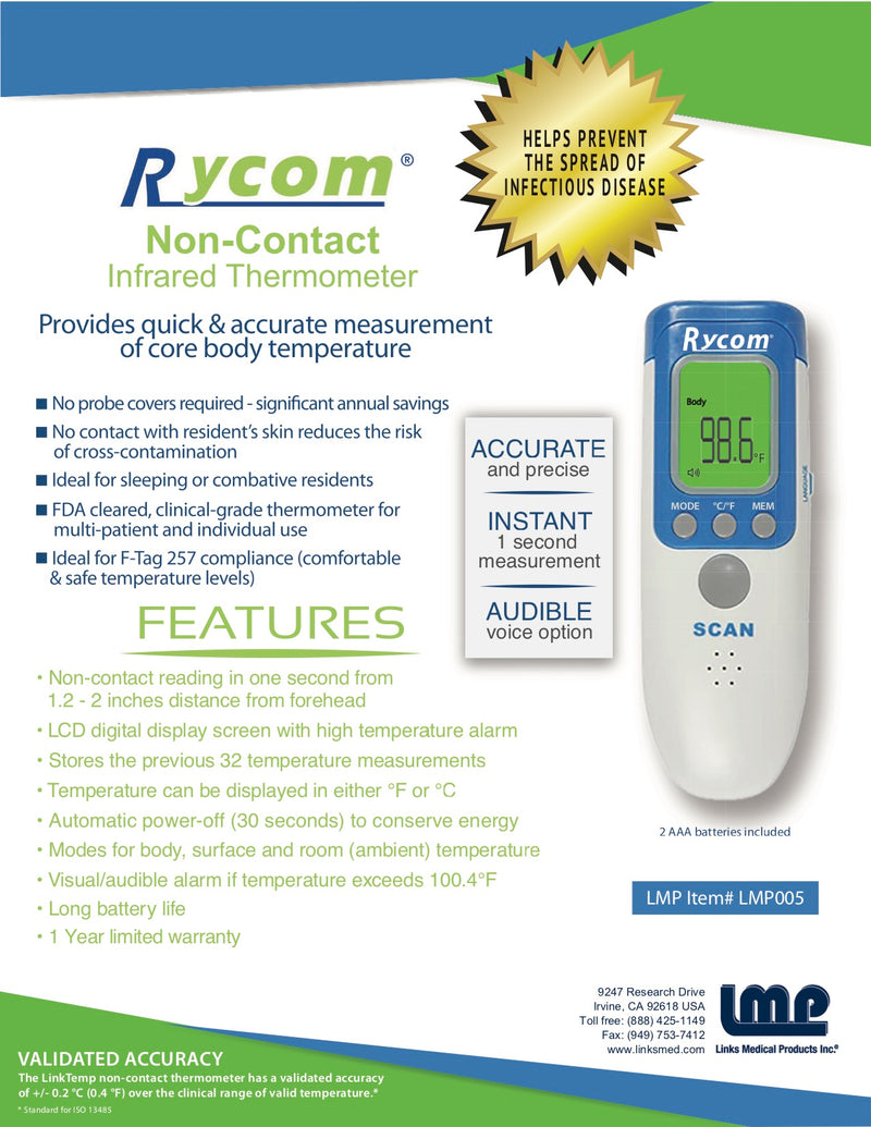 Rycom Non-Contact Infrared Thermometer