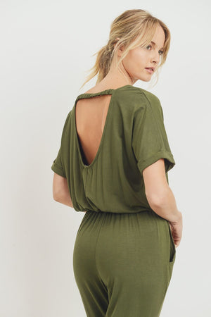 Load image into Gallery viewer, Ashlyn Olive Green Romper