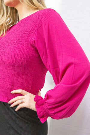 Alice Pink Blouse