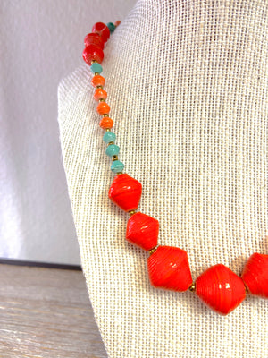 Load image into Gallery viewer, Voyager Beaded Necklace