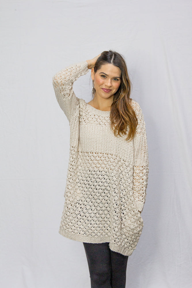 Load image into Gallery viewer, Devyn Knit Sweater Dress