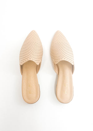 Karla Pointed Slip Shoes