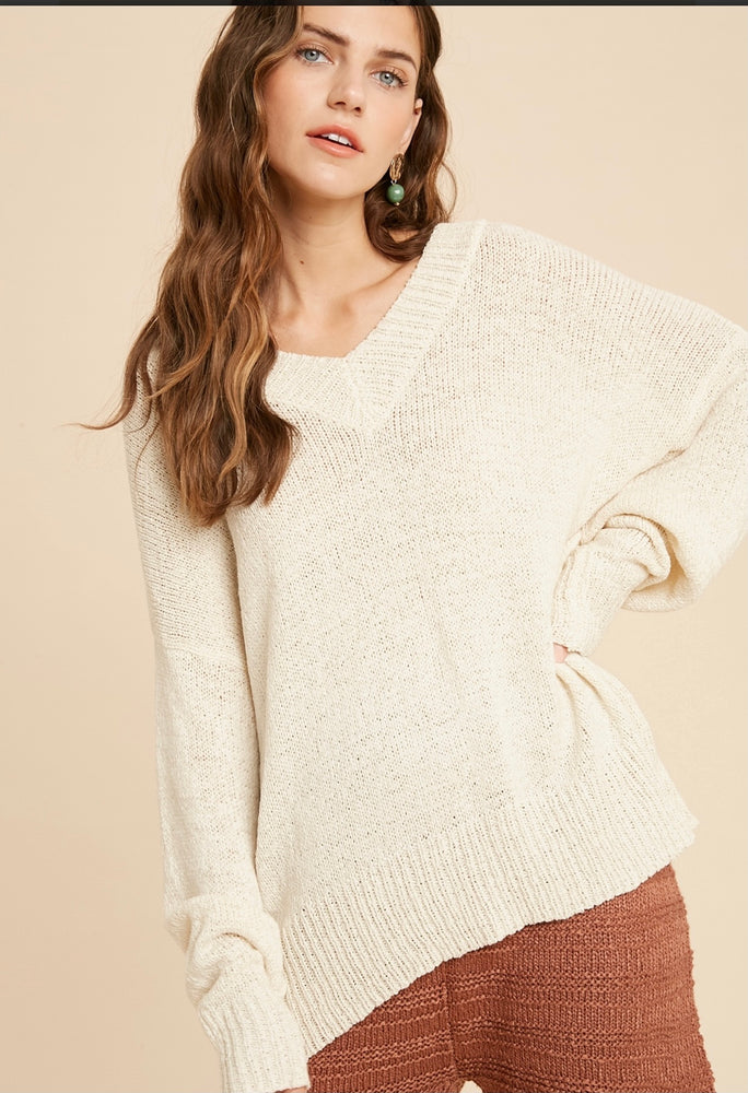 Load image into Gallery viewer, Nikita Cream Sweater