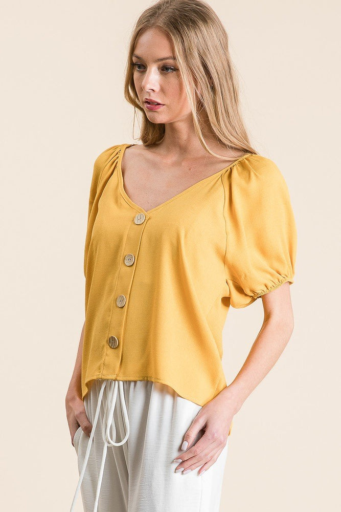 Riley Yellow Top