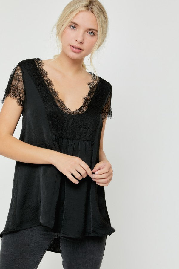 Lysa Lace Top