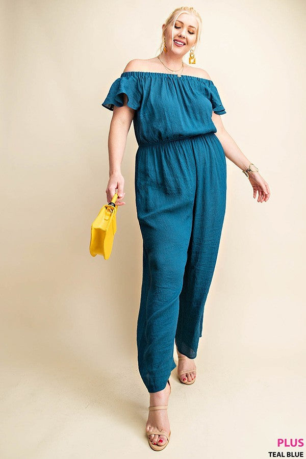 Load image into Gallery viewer, Maude Jumpsuit Plus Size