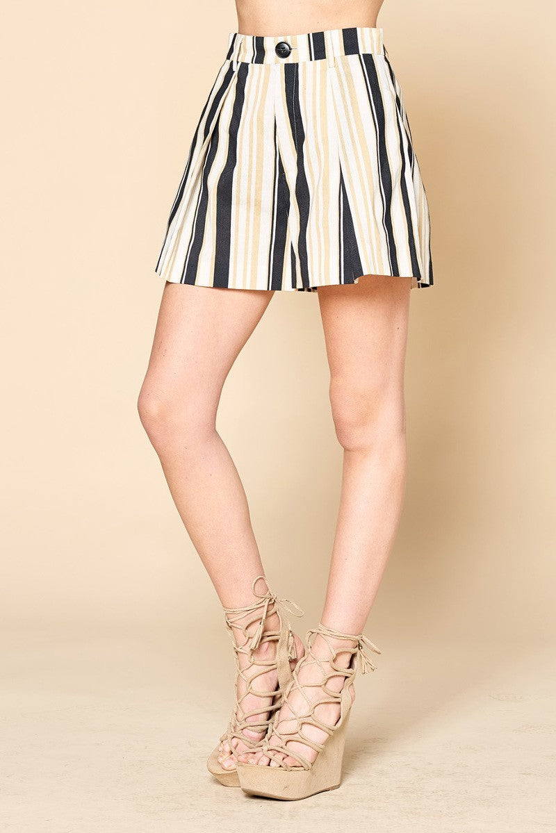 Erika Stripe Shorts