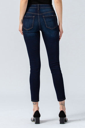 Load image into Gallery viewer, Jemma Dark Wash Skinny Jean