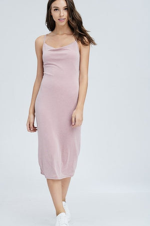 Lyla Rose Slip Midi Dress