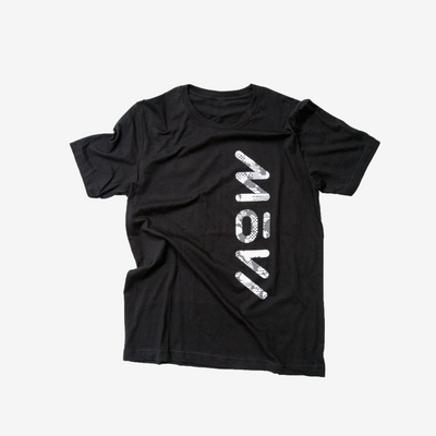 MōVI Black and White T-Shirt