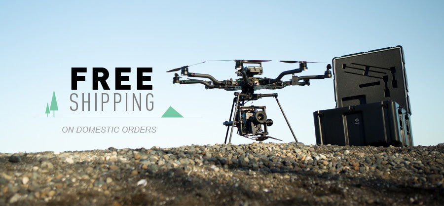 Free shippin on all domestic orders!