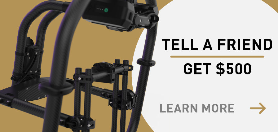 Tell a friend about Freefly and get $500. Learn more