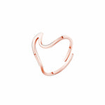 Bague Homme Wave Ring Women Jewelry Stainless Steel Mermaid Ring - Atom Oracle
