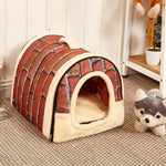 Pet Bed Cum House Multi-Functional Bed For Dogs Cats Small Animals - Atom Oracle