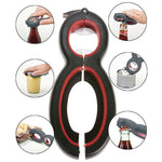 6 in 1 Multi Function Can Beer Bottle Opener Claw - Atom Oracle