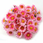 100PC/Lot  2.5cm Mini Daisy Flowers Artificial Silk Flowers Party Wedding Home Decoration