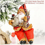 Santa Claus Doll Christmas Tree Ornament Decorations For Home