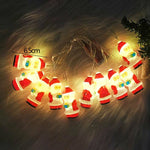 Christmas Tree Santa Claus Led Light String Festival Home Party Decor Christmas Ornaments