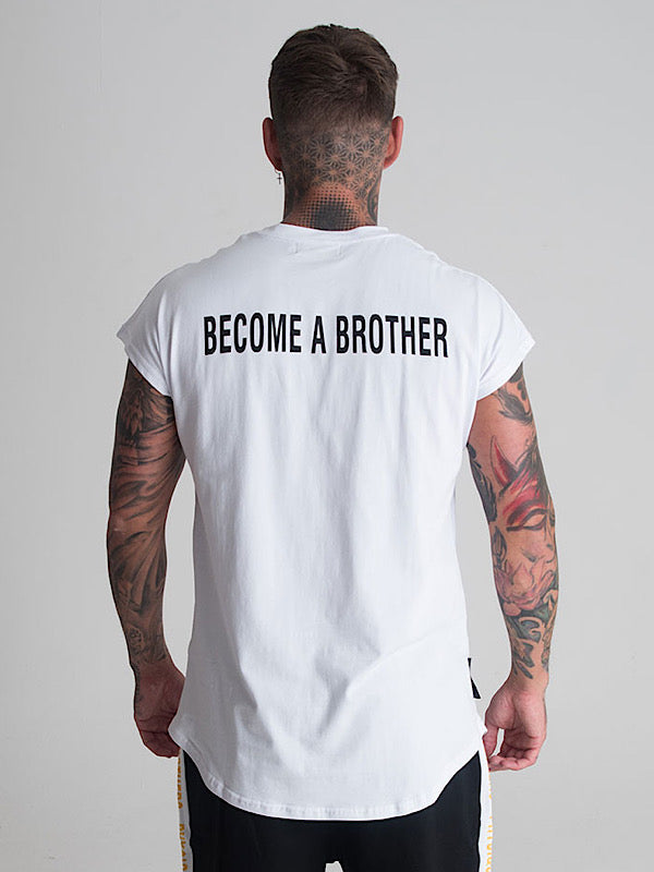 Brother Tee - White - Physique Brothers