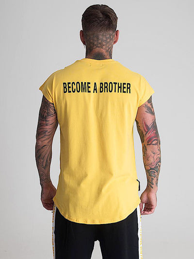 Brother Tee - Yellow - Physique Brothers