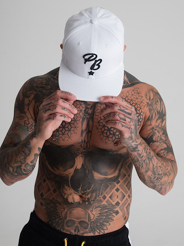 PB Snapback white - Physique Brothers