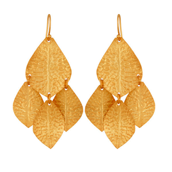 Lola Earring in Gold foil
