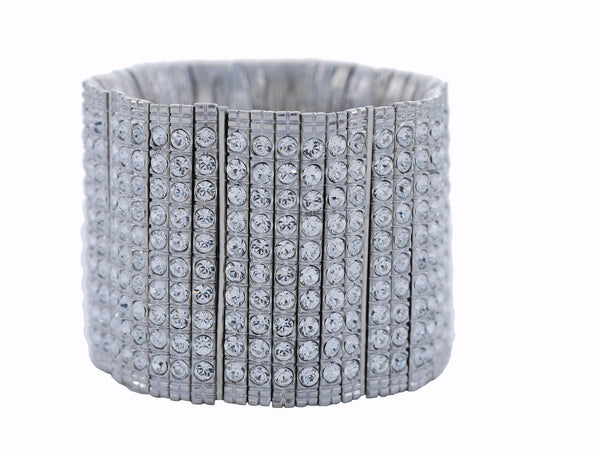 Skyline Barroco Cuff in Silver City