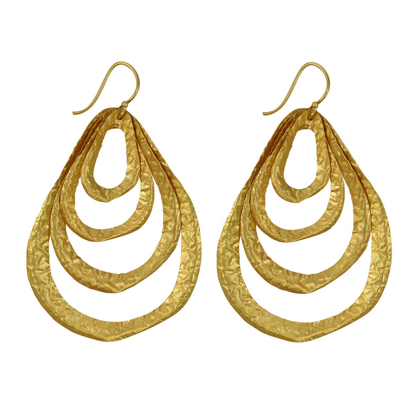 Bethesda Earring In Gold
