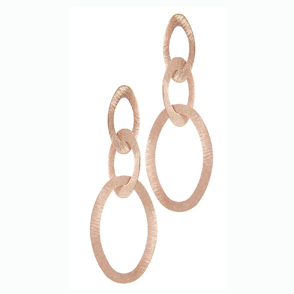 Isabetta Earring in Muted Rose Gold
