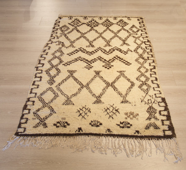 Brown Landscape Beni Rug