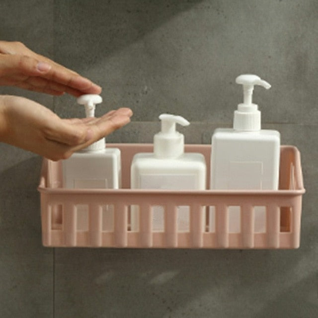 Wall Mounted Plastic Storage Rack