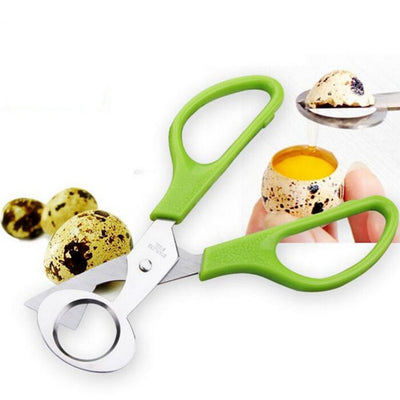 Metal Stainless Steel Egg Scissors