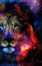 Load image into Gallery viewer, Galaxy Lion Diamond Painting Kit - MEIISS DIAMOND PAINTING