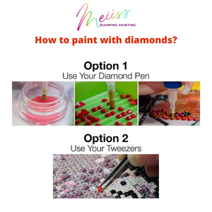 Peacock Diamond Painting Kit - MEIISS DIAMOND PAINTING