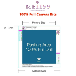 American Psycho Diamond Painting Kit - MEIISS DIAMOND PAINTING