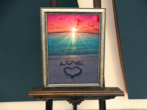 Awesome Love On The Beach Diamond Painting Kit - MEIISS DIAMOND PAINTING