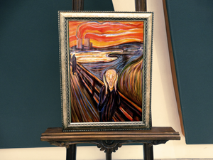 The Scream Of Nature Diamond Painting Kit - MEIISS DIAMOND PAINTING