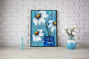 Chamomile Diamond Painting Kit - MEIISS DIAMOND PAINTING