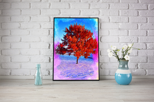 Colored Tree Diamond Painting Kit - MEIISS DIAMOND PAINTING