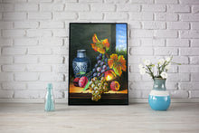 Load image into Gallery viewer, Awesome Grapes and Peach Diamond Painting Kit - MEIISS DIAMOND PAINTING