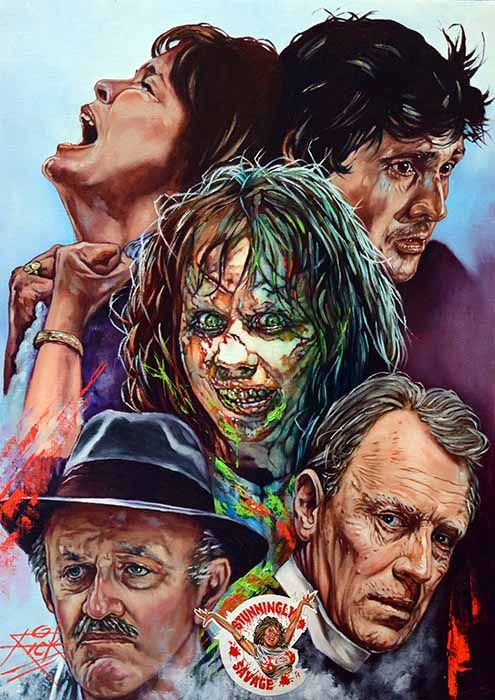 The Exorcist Diamond Painting Kit - Paint By Diamonds
