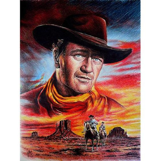 Outstanding John Wayne Diamond Painting Kit - MEIISS DIAMOND PAINTING