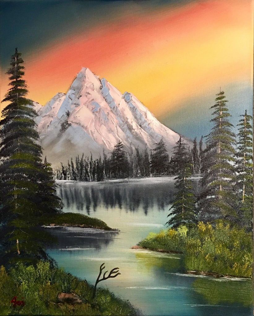 Mountain Lake Diamond Painting Kit - MEIISS DIAMOND PAINTING