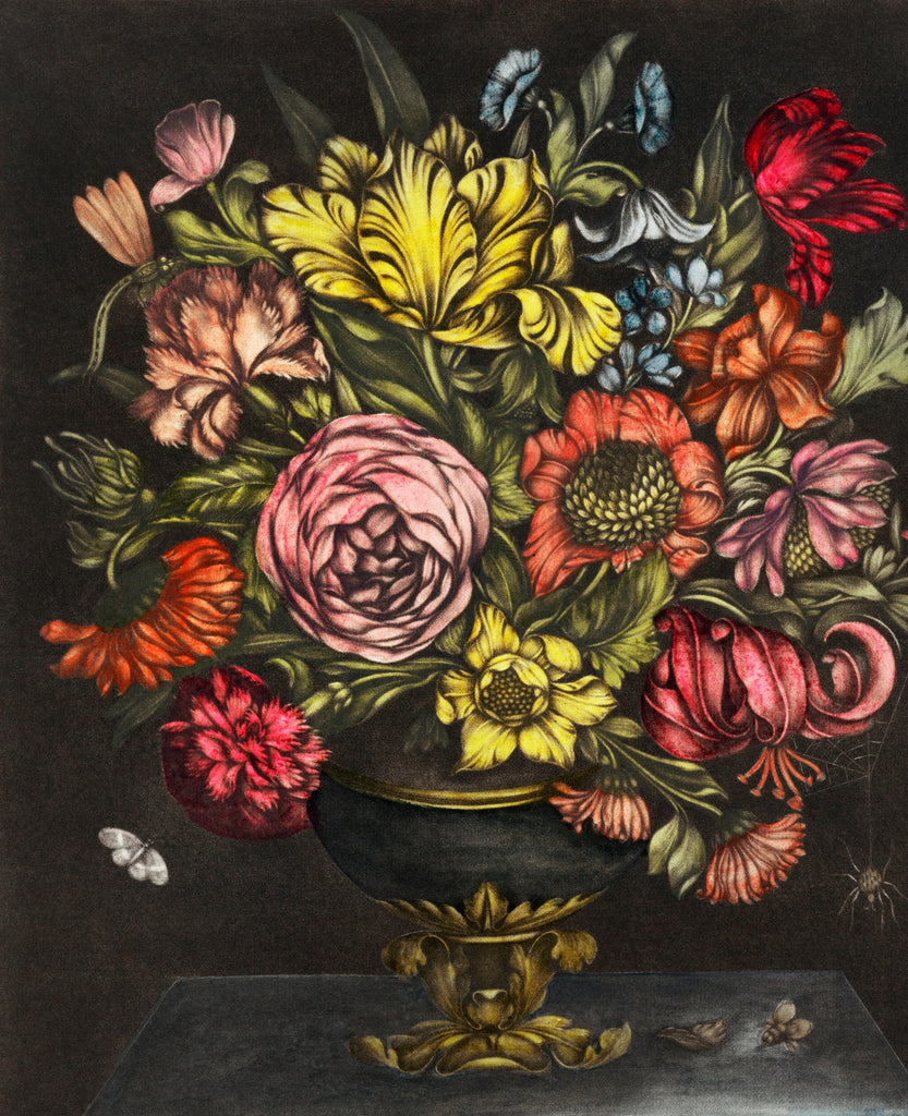 Vase with Flowers by J. Waterloos (1680–1684) Diamond Painting Kit - Paint By Diamonds