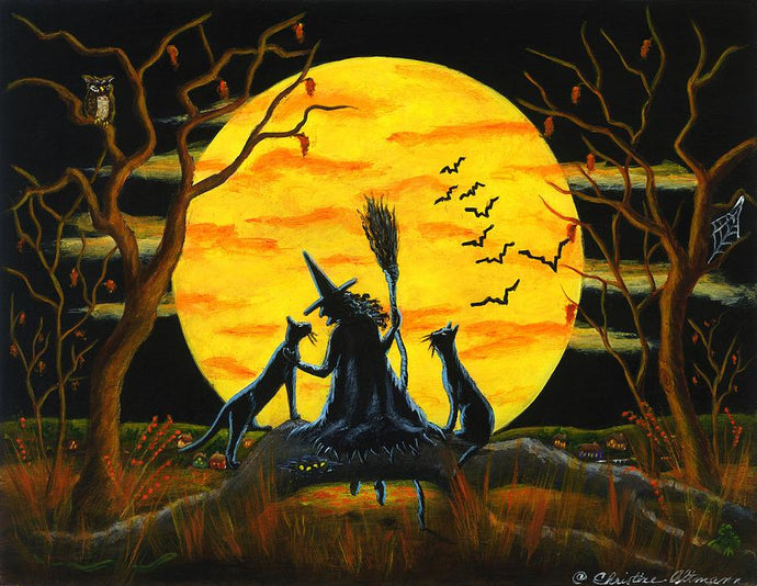 Halloween Patience Halloween Nears Diamond Painting Kit - MEIISS DIAMOND PAINTING