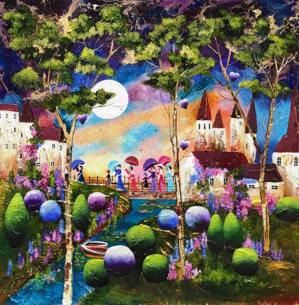 Colorful Fairytale Castle Diamond Painting Kit - Paint By Diamonds