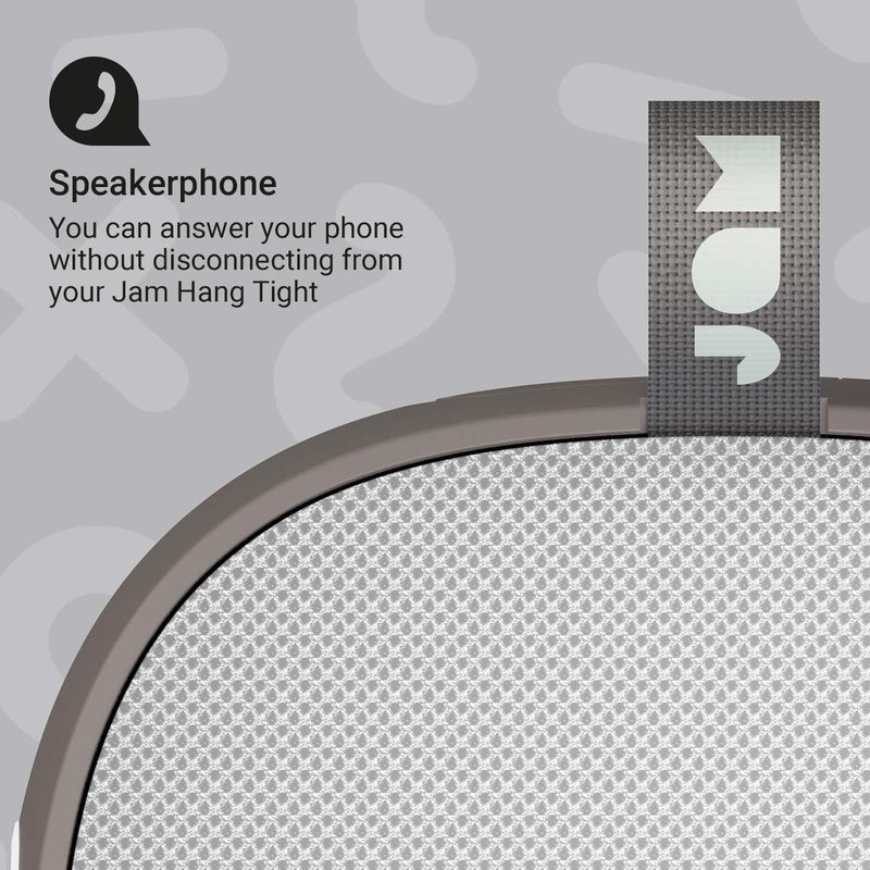 Jam Hang Tight Shower Speaker - Grey.